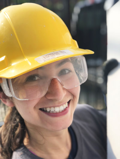 Aileen Nunez, Insight's CSR Leader at Habitat for Humanity, Jersey City, NJ